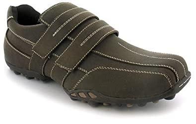 shoes men casual mens twin velcro casual lifestyle shoes