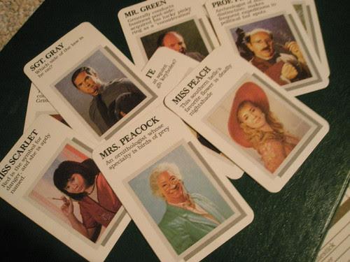 clue murderer cards