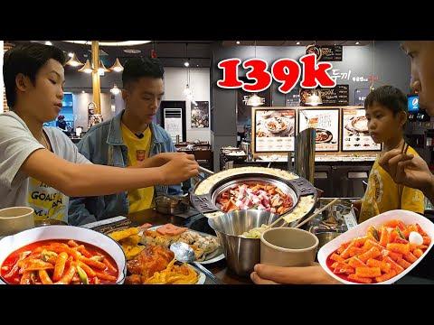 Ăn Thả Ga Hàn Quốc Chỉ Với 139k - Nhà Hàng Dookki