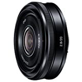 SONY E 20mm F2.8Eマウント用レンズ(ソニー ミラーレス一眼用) SEL20F28