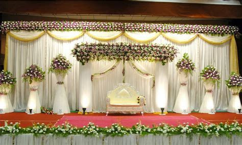 Simple wedding decoration, american simple wedding stage