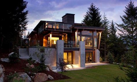 mountain modern architecture home design contemporary