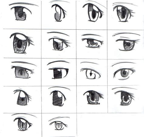 draw anime eyes  image show  examples