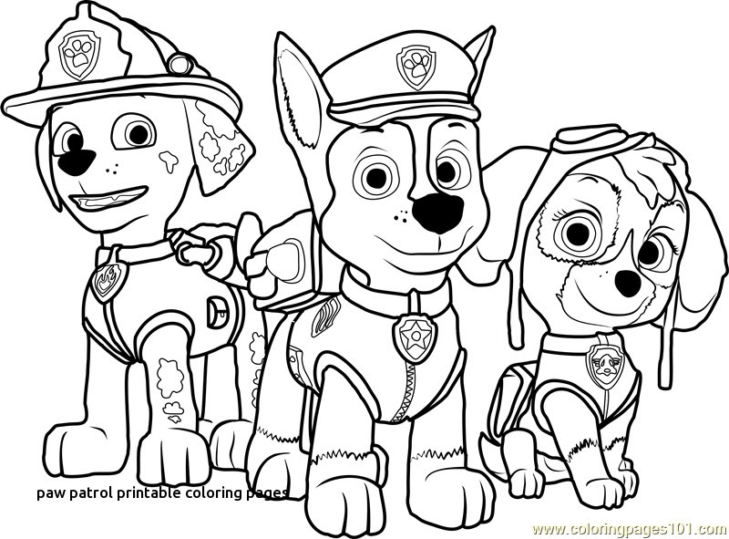 38+ Printable Coloring Pages Paw Patrol Gif