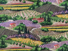 """Michael Miller Fabric, """"Provence"""""""