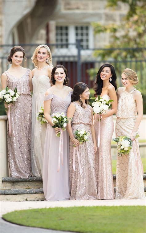 Modern Sequin Bridesmaid Dress   Sorella Vita Bridesmaid Gowns