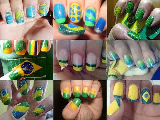 Nail Art: Brasil