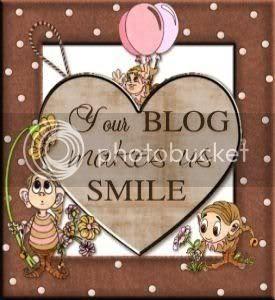 """Your Blog Makes Us Smile "" Award"