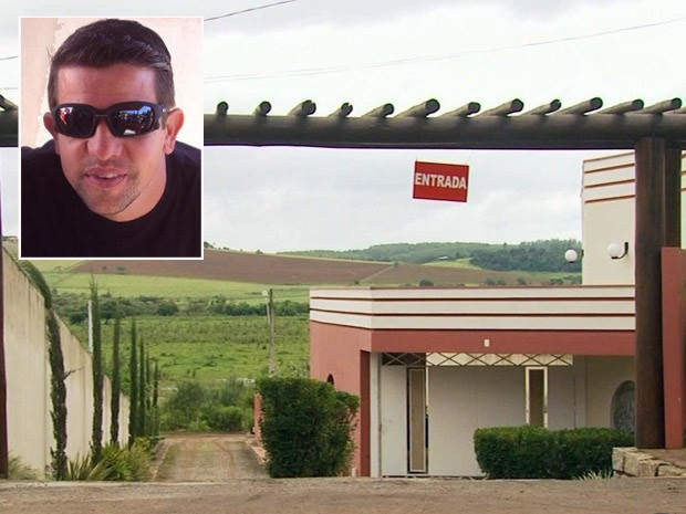 Homem é morto em motel de Pouso Alegre (Foto: Reprodução EPTV)