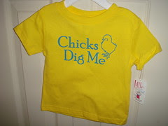 Shirt for my neighbor's baby