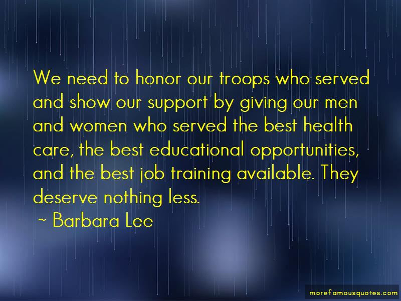 Honor Our Troops Quotes Top 10 Quotes About Honor Our Troops From