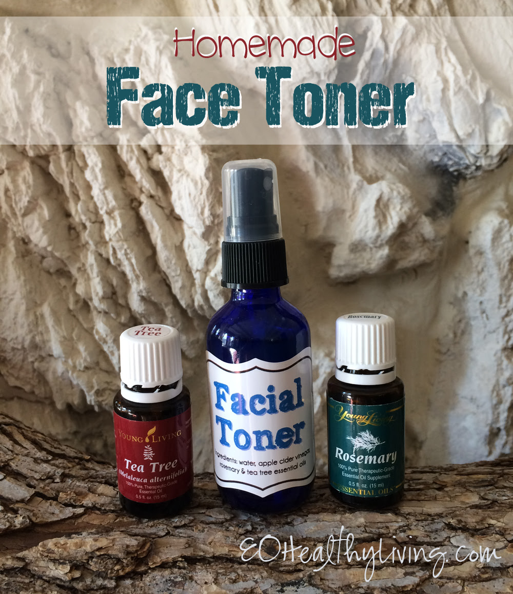 DIY Homemade Face Toner made with Young Living essential oils
