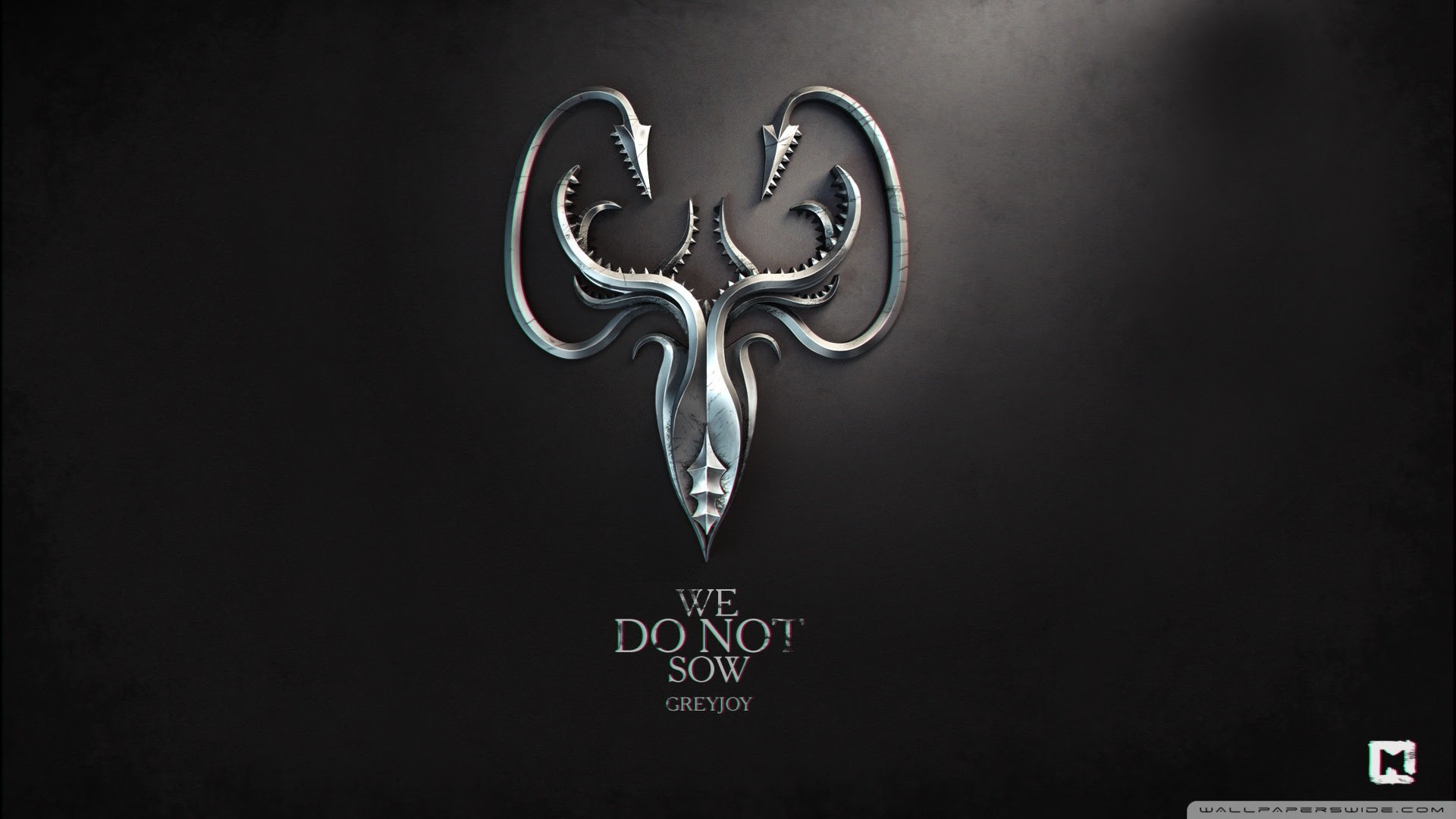 Game Of Thrones We Do Not Sow Greyjoy Ultra Hd Desktop Background