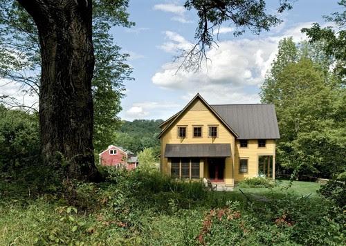 Farmhouse Reinterpreted traditional exterior