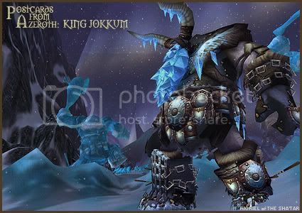 Postcards of Azeroth: King Jokkum, by Rioriel Ail'thera