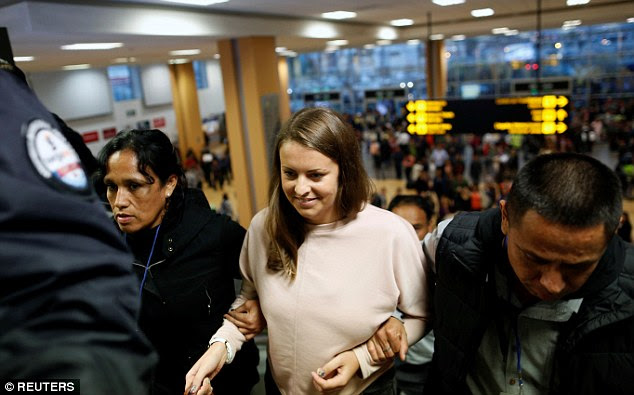 Reid arrived back to her home in Lenzie, near Glasgow in June after being expelled from the South American country under an early release scheme for deporting first-time drug offenders