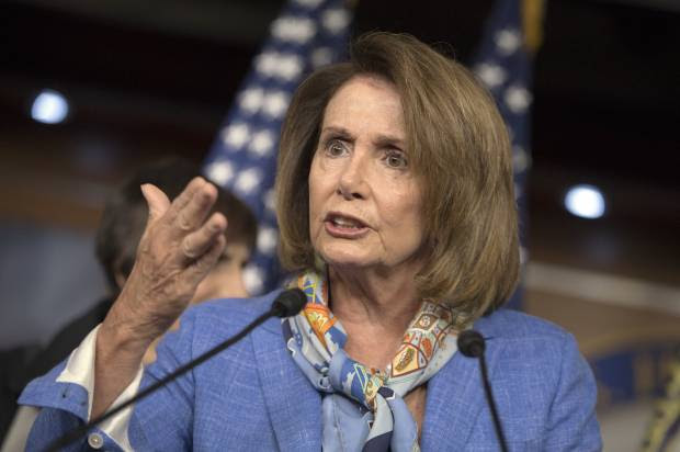 "Nancy Pelosi scolds GOP colleagues for attempting ""massive power grab"""