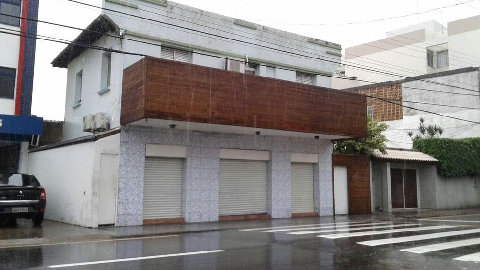 Crime aconteceu no bairro Estreito, na área continental de Florianópolis (Foto: Júlio Ettore/RBS TV)