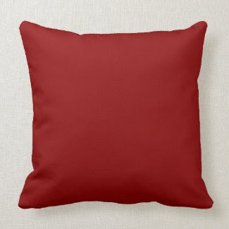 Dark Red Pillows