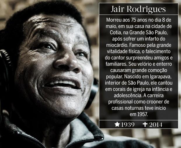 Jair Rodrigues (Foto: ARTE: EDUARDO GARCIA)