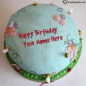 Birthday Cake Generator With Name Editing