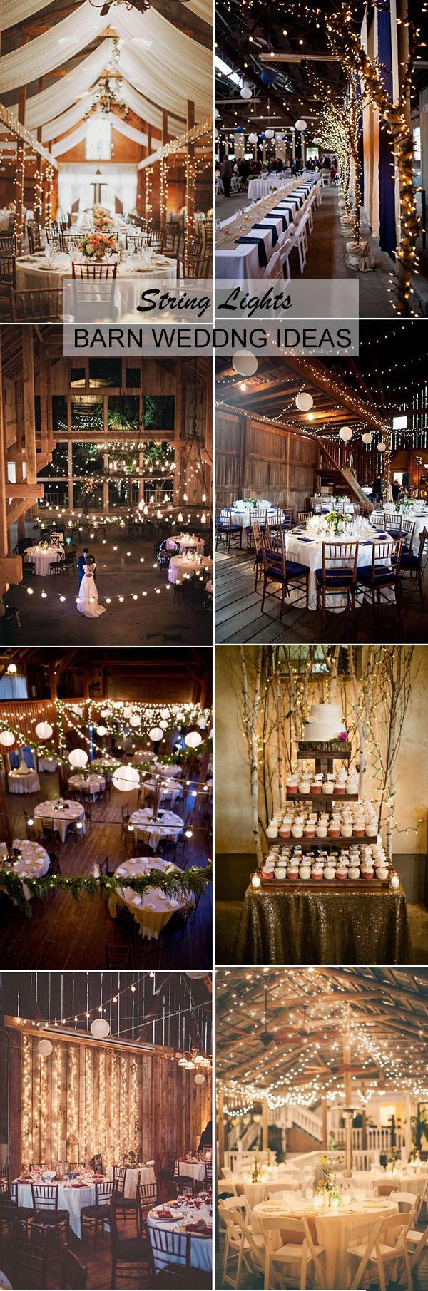 30 Stunning And Creative String Lights Wedding Decor Ideas Stylish Wedd Blog