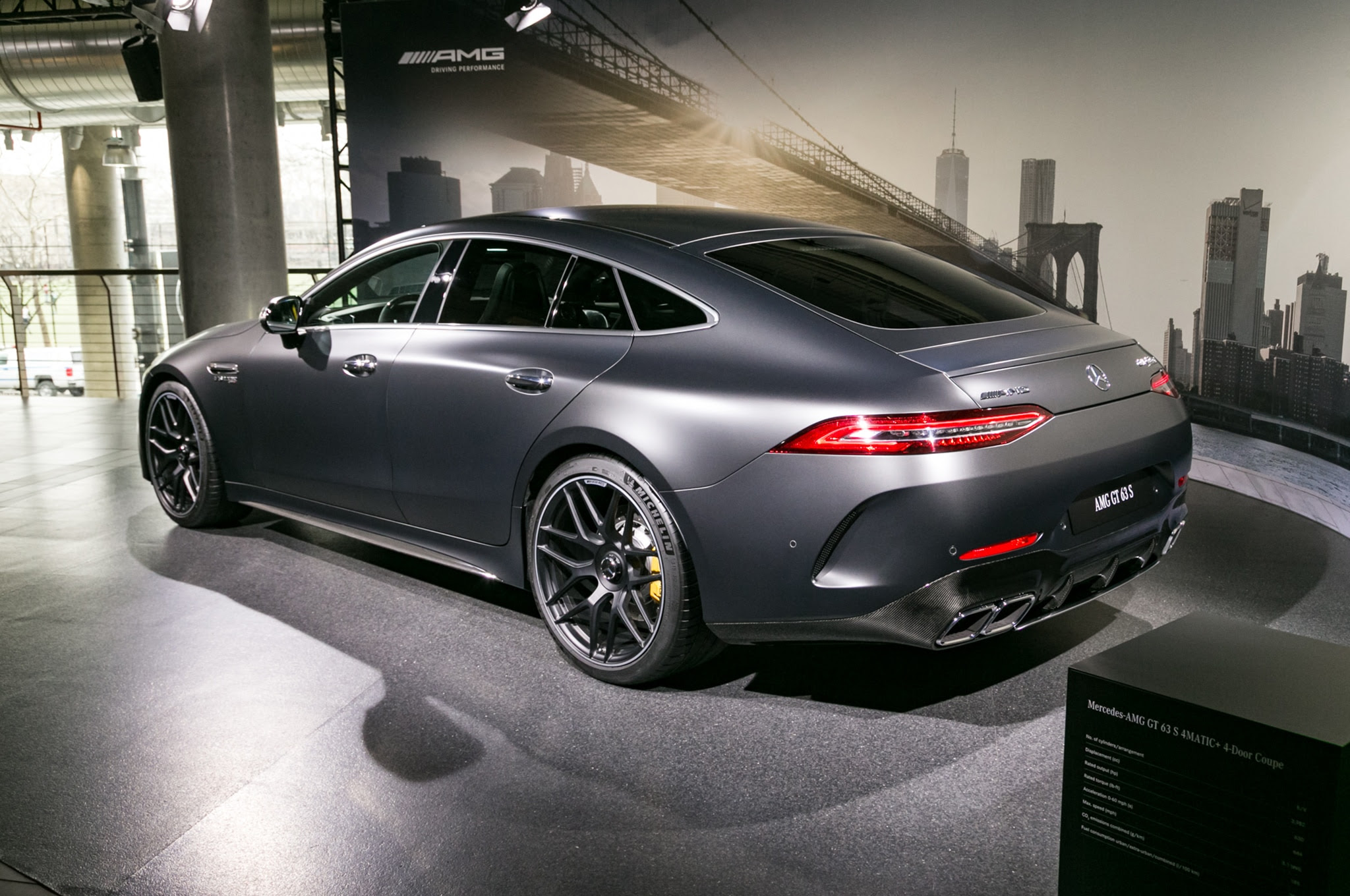 By Design: 2019 Mercedes-AMG GT 4-Door Coupe | Automobile ...