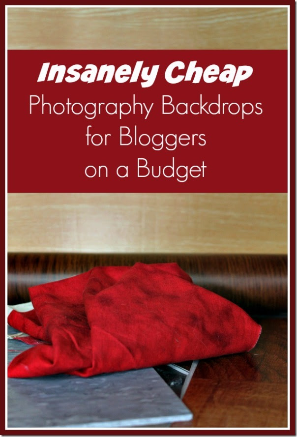 5 Insanely Cheap Photography Backdrops for Bloggers