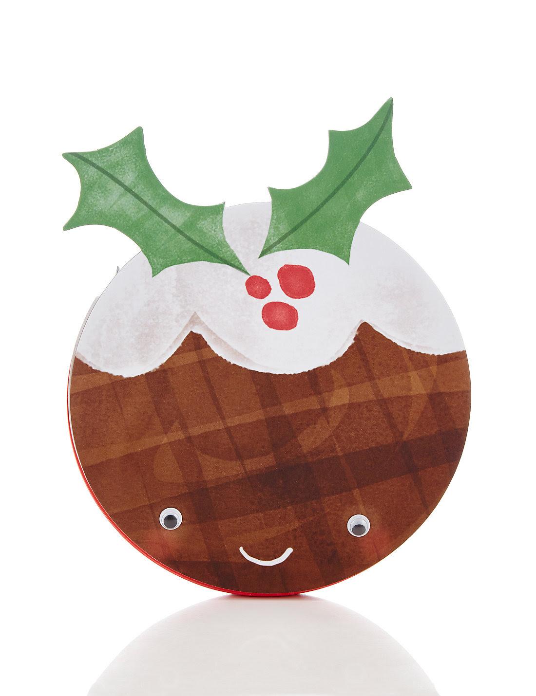 Fun Christmas Pudding Notebook