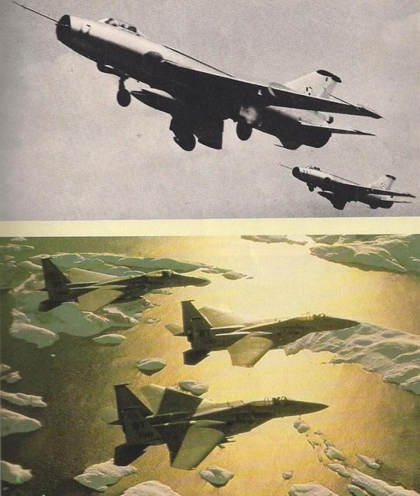 Aproximadamente 350 aviones de combate de la 37. º Ejército de Aire de Frente de la URSS fueron designados para las operaciones con las Fuerzas del Norte. Aunque el F-15 Eagle USAF estaban preparados para operar en el Ártico, la OTAN se resentía la falta de un interceptor moderno para operar en el norte de Europa.