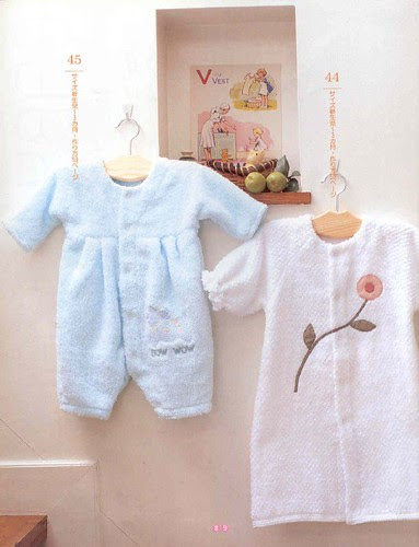 Soft baby clothes made from towels