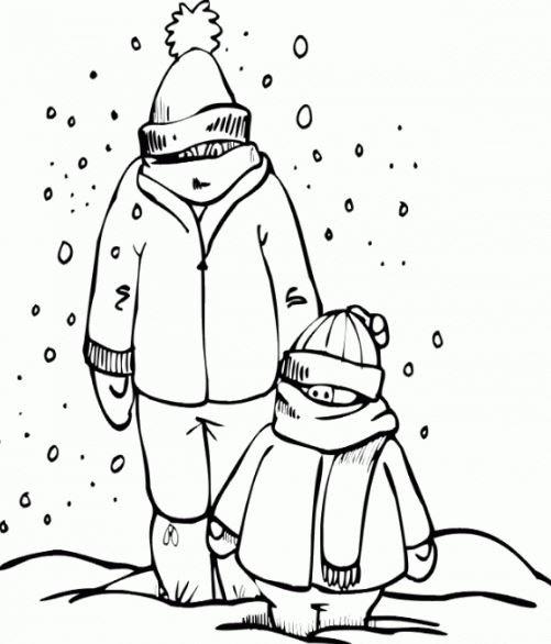 Dibujos Para Colorear Paisajes De Invierno Imagesacolorierwebsite