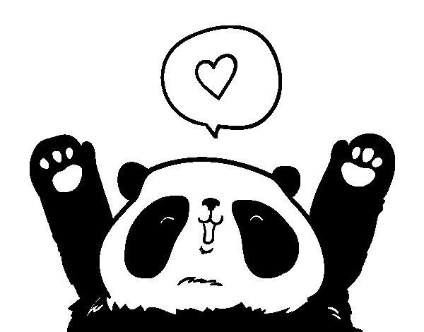 Fogli Da Colorare Panda Immagini Da Colorare Pravreshcom