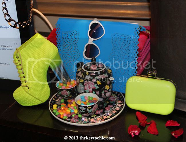 Boohoo Tea Party at Sur Lounge sweets