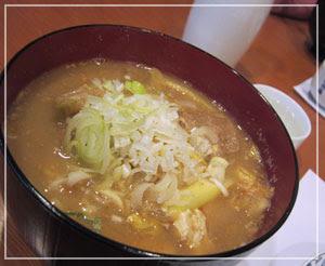 神田「鮨処夢春」にて、どぶ汁。味は良かった……けど……