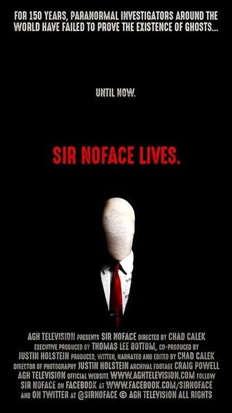 The poster for SIR NOFACE.