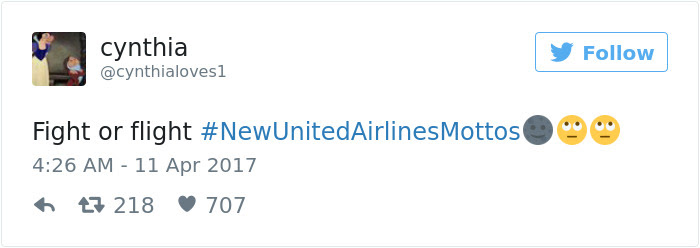 United Airlines Motto