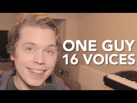 Orang ini mempunyai suara 16 penyanyi unggul