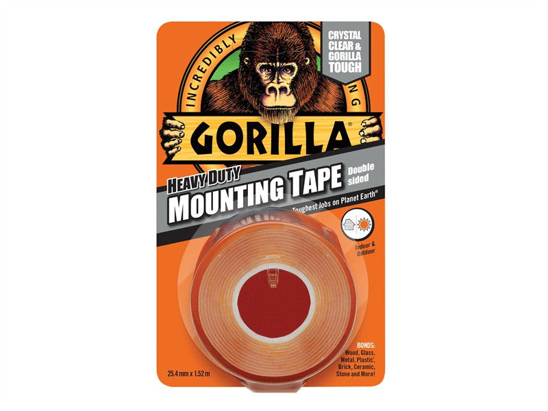 Gorilla Glue 3044101 Double Sided Mounting Tape 254mm X 152m W