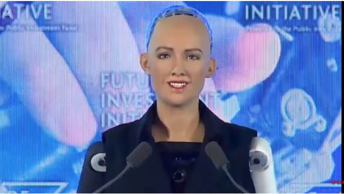 Sophia, first robot Saudi Citizen