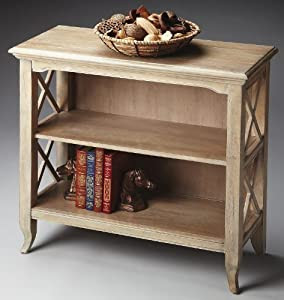 Amazon.com - Accent Furniture - Burnbreigh Bookcase - Driftwood ...