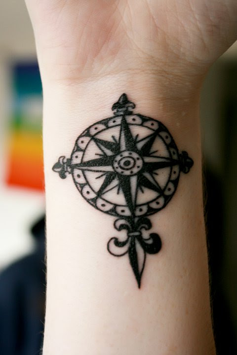 Temporary Tattoo Ideas Compass Tattoo Design Tattoomagz