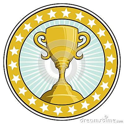 Copo do troféu do vencedor