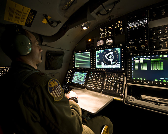B-1 puesto de combate