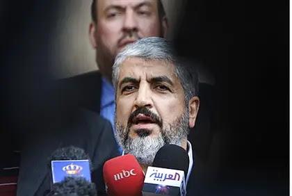 Hamas politburo chief Khaled Mashaal