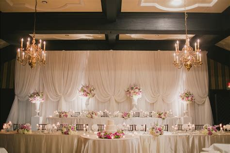 Large Wedding Party Backdrop Old Mill Toronto   Wedding
