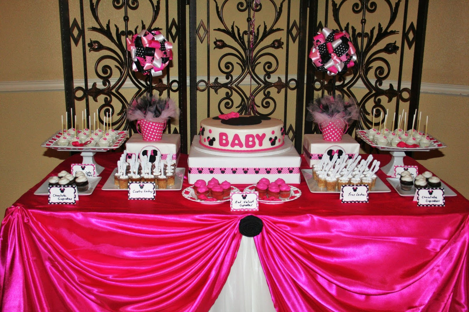 35 Yummy Baby Shower Cakes For Girls Table Decorating Ideas