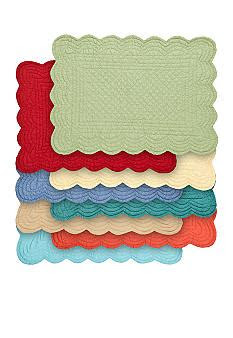cf quilted scalloped placemat belkcom