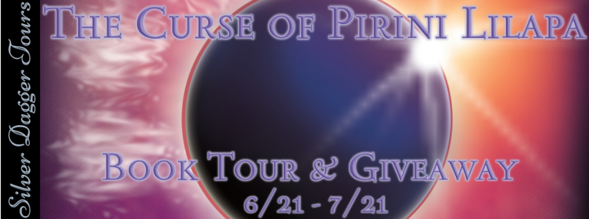 Curse of the Pirini Lilapa Book Tour + Giveaway