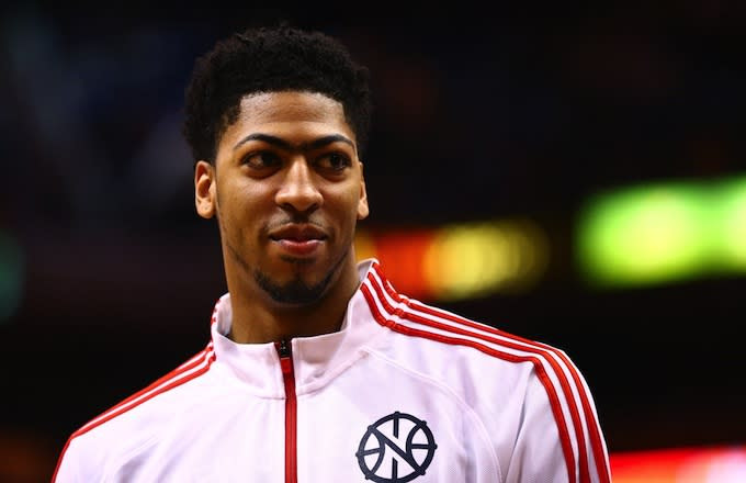 Anthony Davis (Pelicans PF) Barber Fat Cal Says If You Cut ...